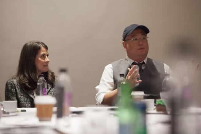 Peter Sohn (Director) & Denise Ream (Producer) –
