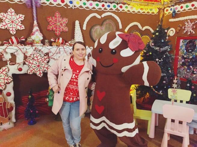 Queen Mary Gingerbread Girl