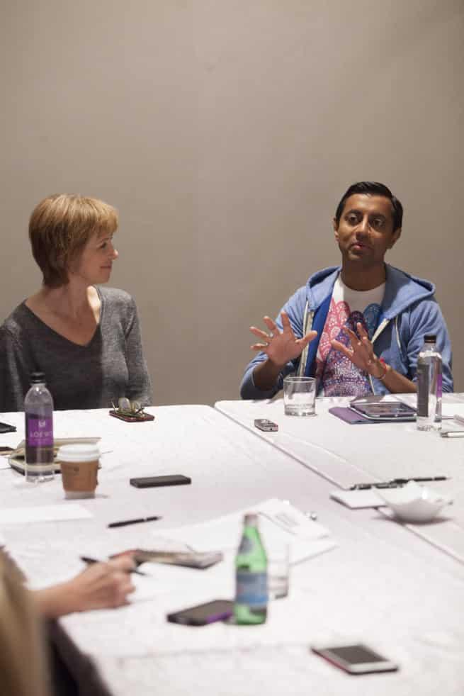 Sanjay Patel (SANJAY'S SUPER TEAM Director) & Nicole Grindle (SANJAY'S SUPER TEAM Producer