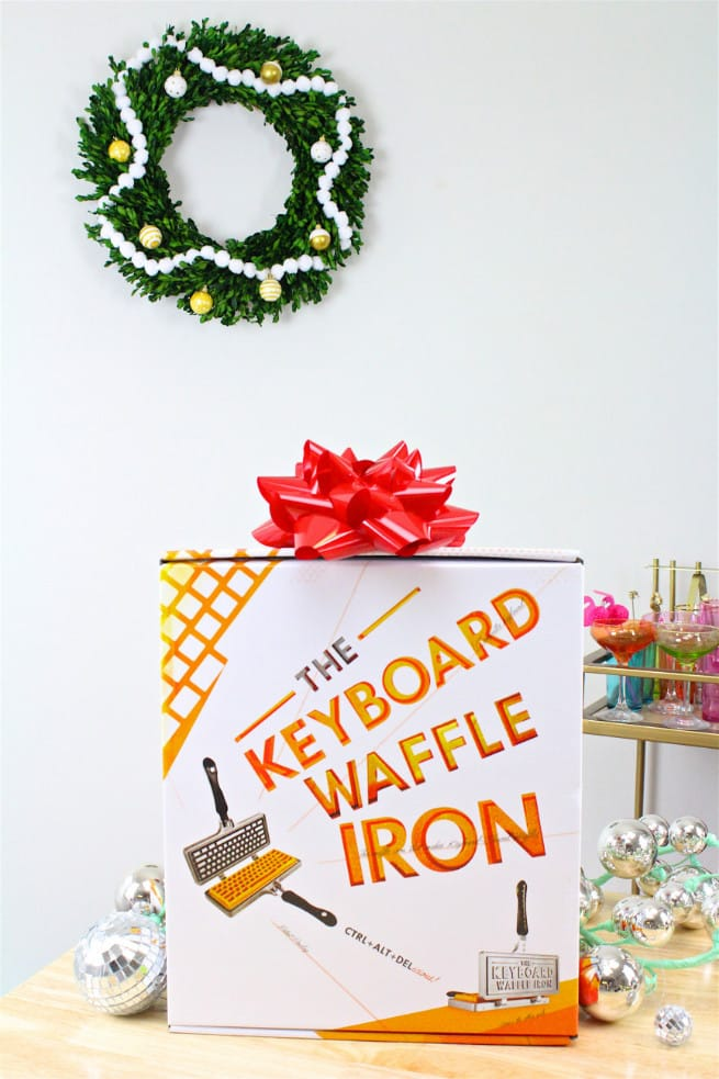 The Keyboard Waffle Iron Gift