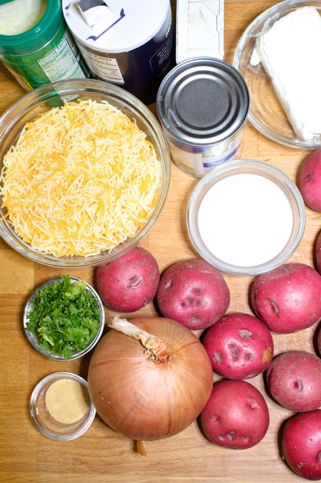 cheesy caserole ingredients