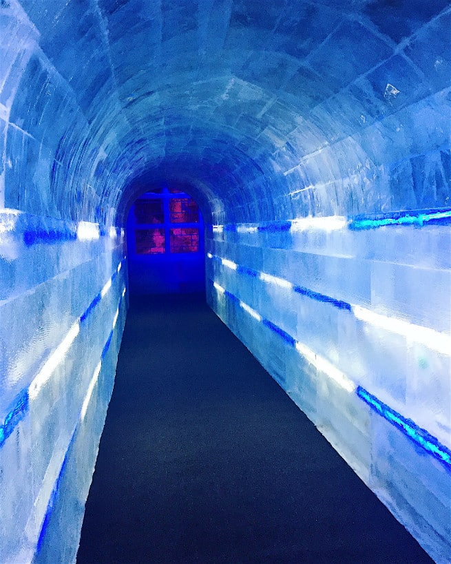 the queen mary chill 2015 Ice Kingdom 9 Degrees Bar-1