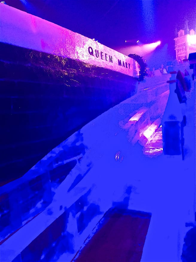 the queen mary chill 2015 Ice Kingdom 9 Degrees Bar