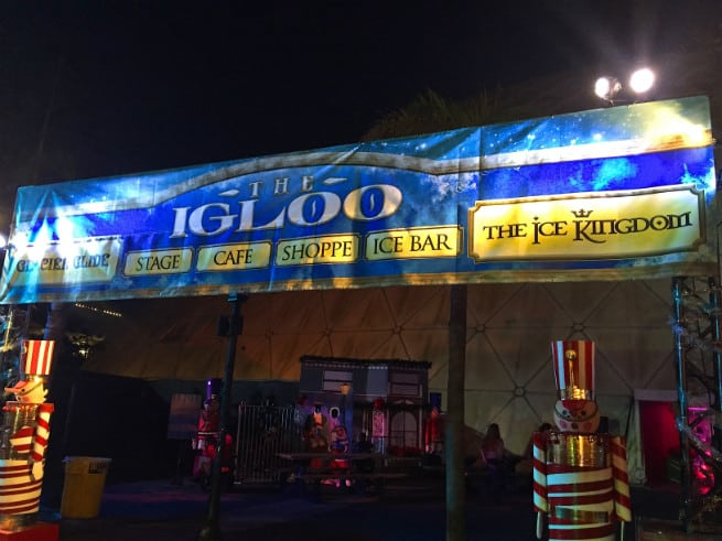 the queen mary chill 2015 Igloo