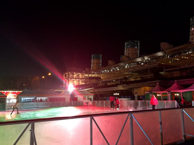 the queen mary chill 2015 ice skating 1