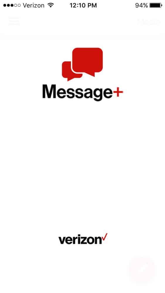 verizon message+ app