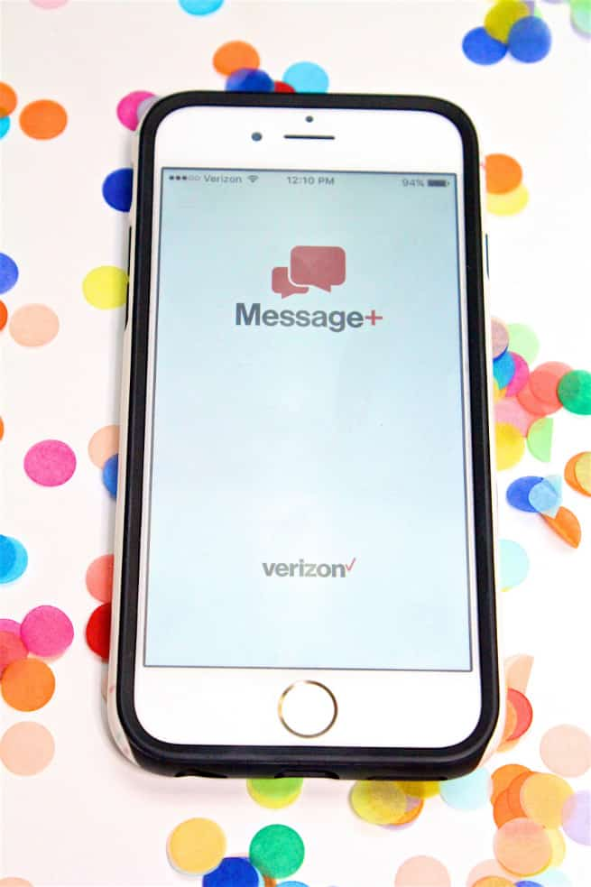 verizon message+ iphone app