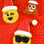 DIY Large Holiday Emoji Rice Krispies Treats + A Giveaway!