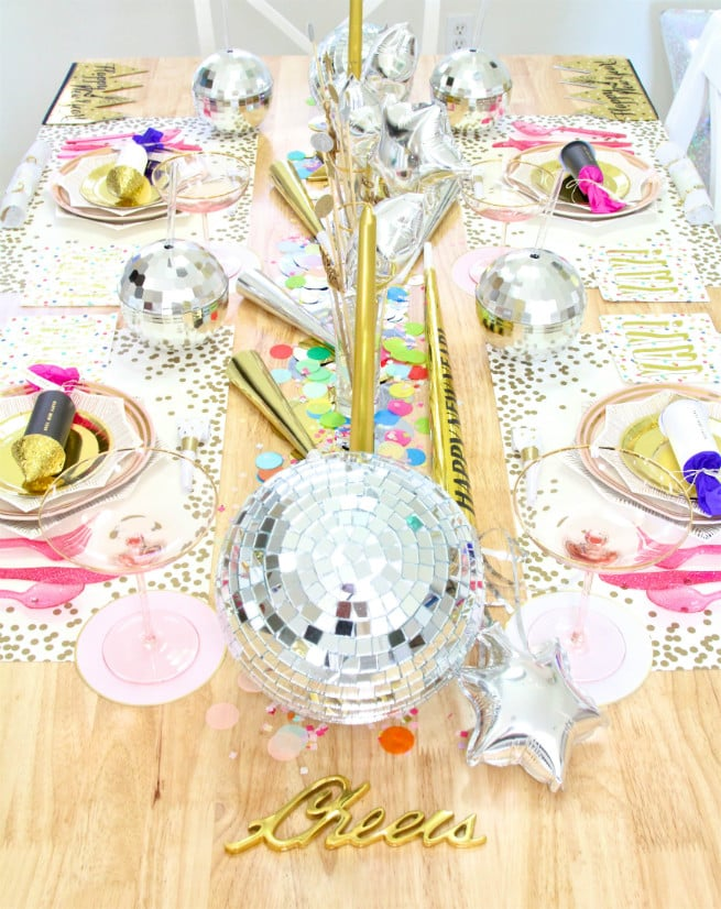 DIY-New Years Tablescape