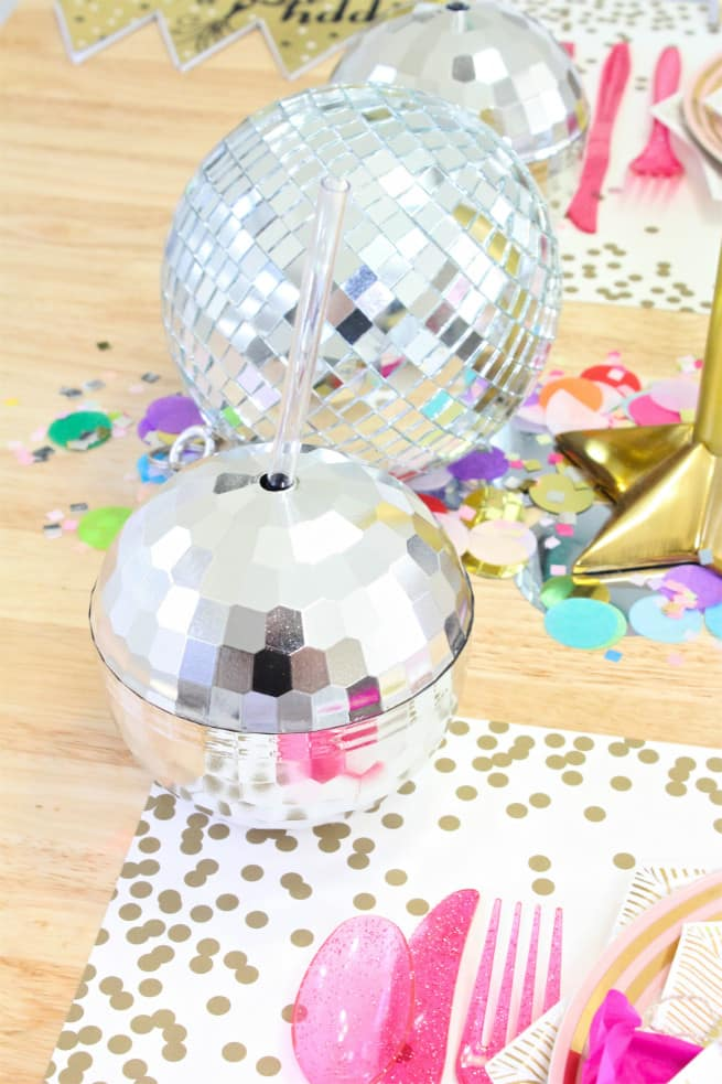 Disco Ball Sippers