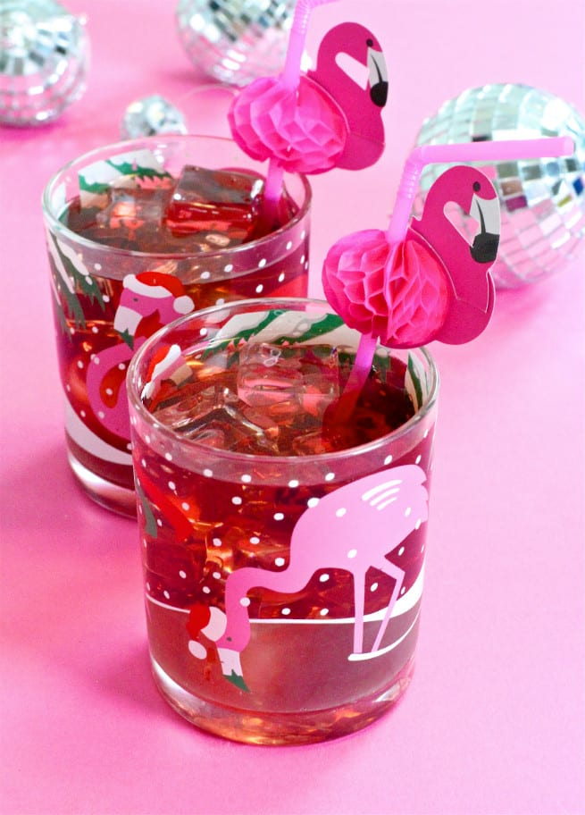 Flamingo Cocktail Drink Recipe For The Holidays