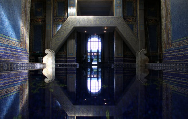 A visit to the incredible hearst castle brite and bubbly - Hearst castle neptune pool swim auction ...