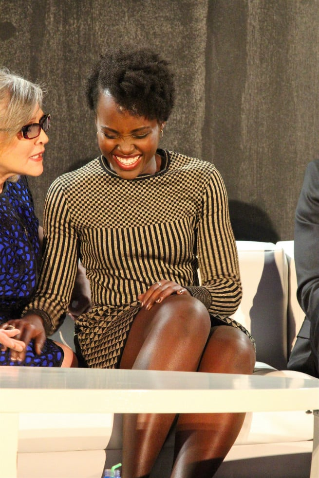 LUPITA NYONG'O-Carrie Fisher