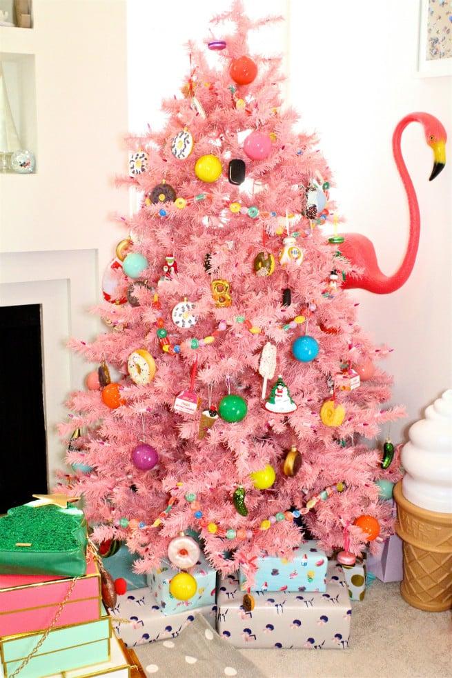 Pink Christmas Tree 2015