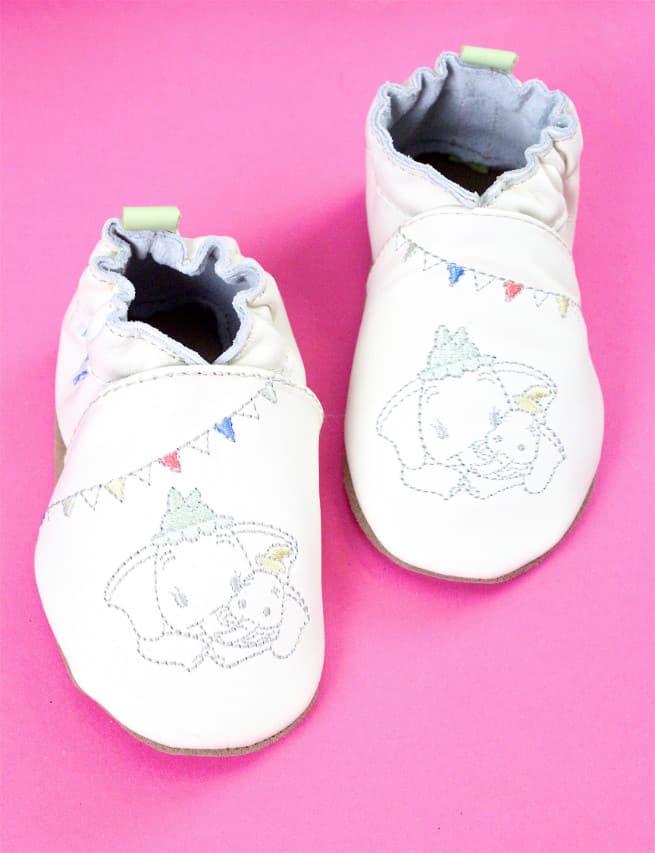 Robeez Baby Shoes Disney Dumbo