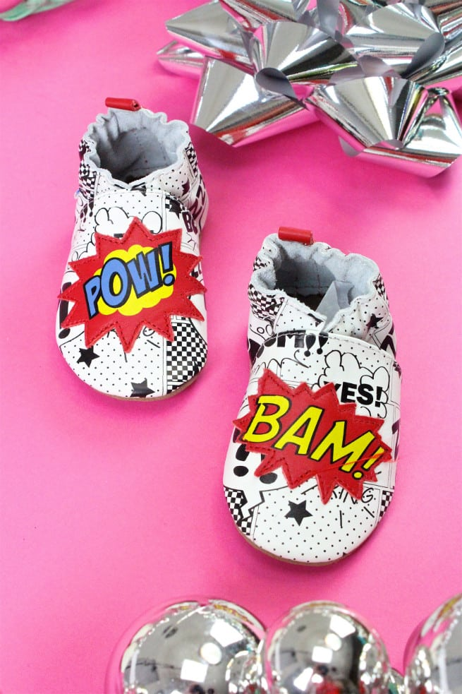 Robeez Baby Shoes Pow Bam