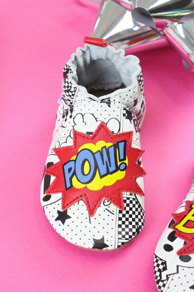 Robeez Baby Shoes Pow