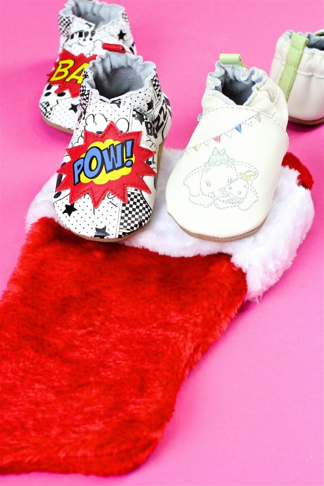 Robeez Baby Shoes- Stocking