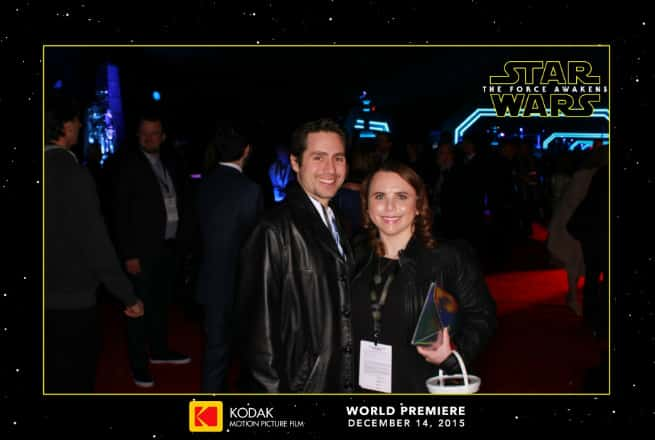 Star Wars Red Carpet experience