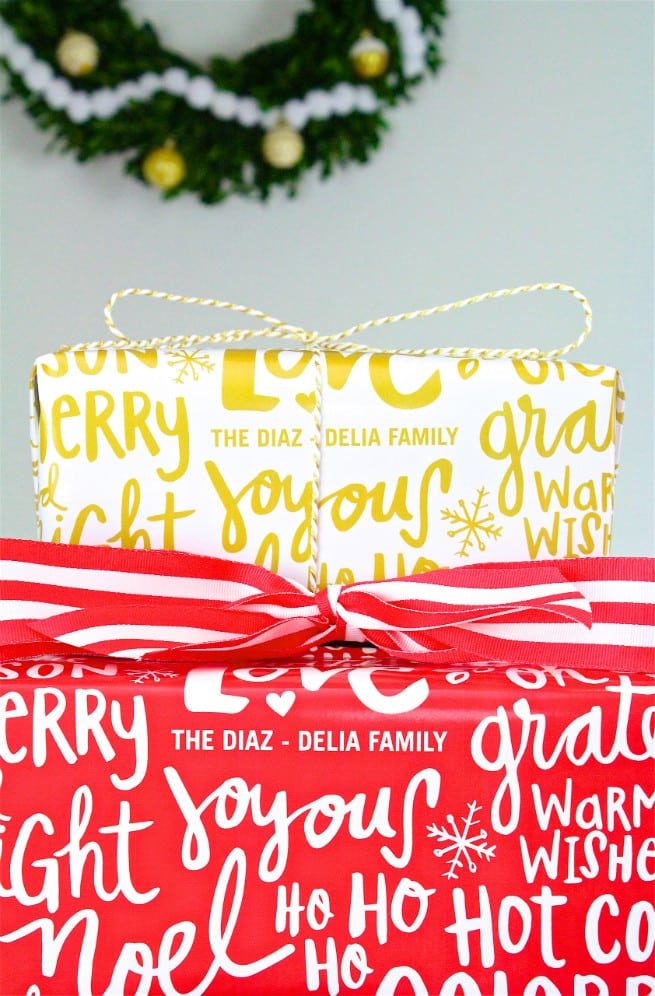 our fabulous cards custom wrapping paper gifts