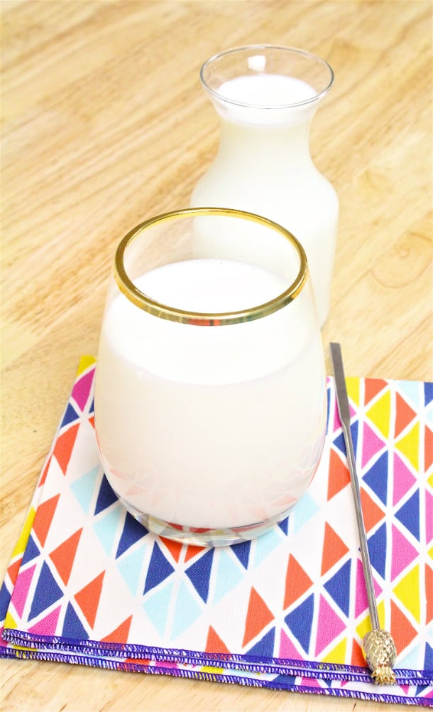 A2 Milk Glass
