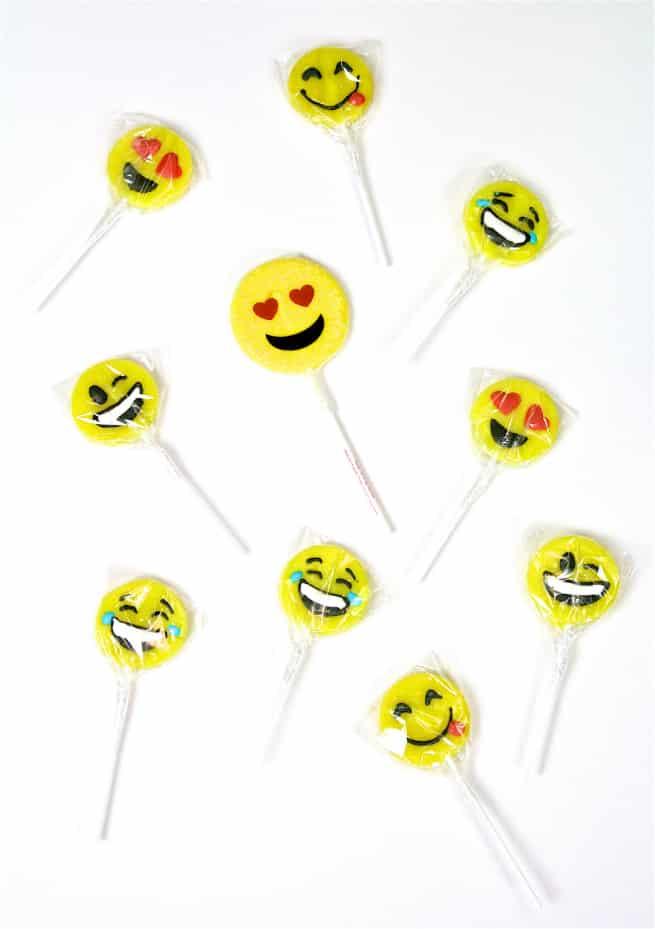 Emoji Lollipops