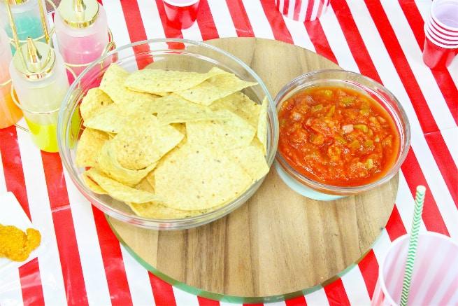 Target Super Bowl Party Essentials Chips Salsa