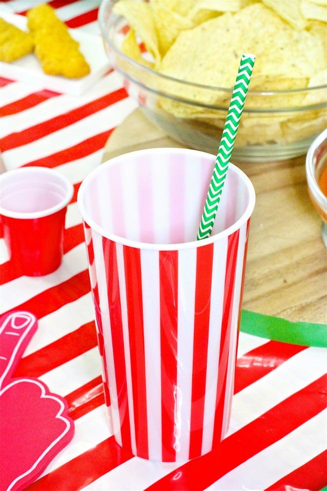 Target Super Bowl Party Essentials Cups