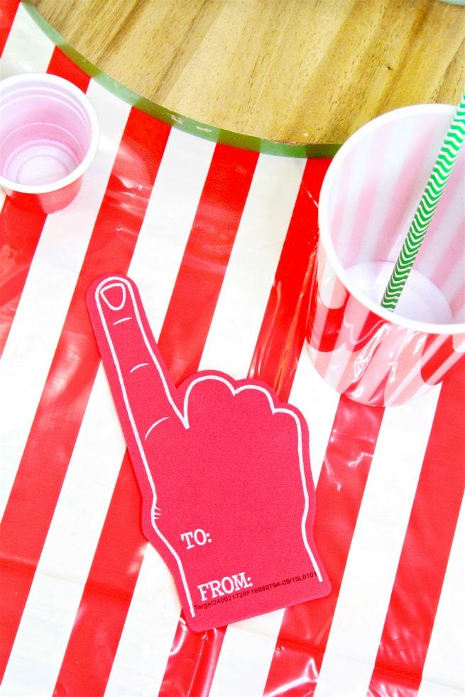 Target Super Bowl Party Essentials Foam Fingers