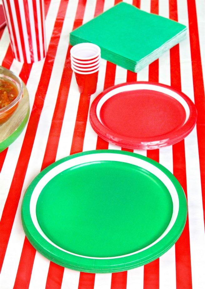 Target Super Bowl Party Essentials Plates