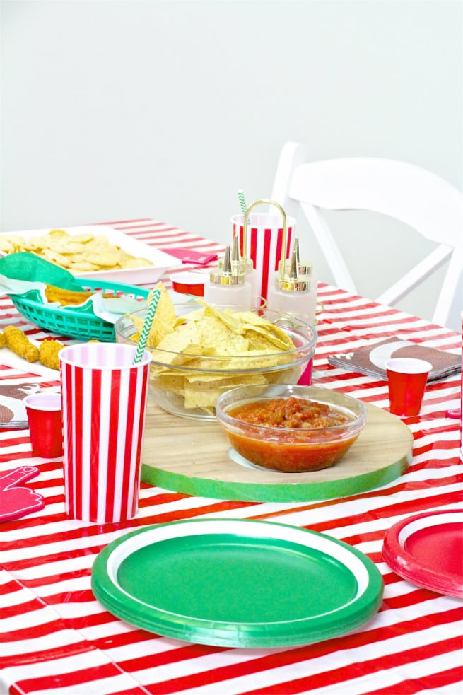Target Super Bowl Party Essentials Table