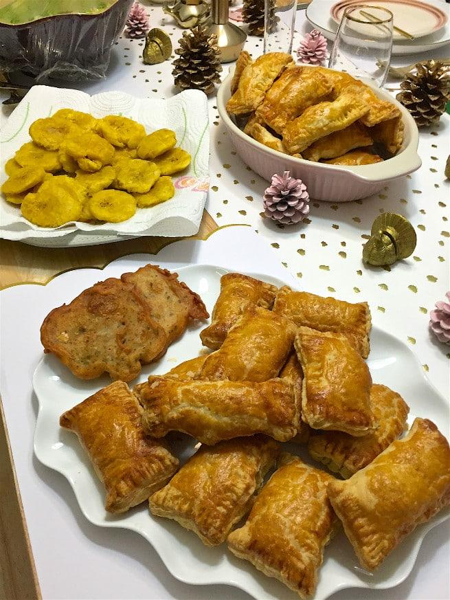 bacalaitos and food