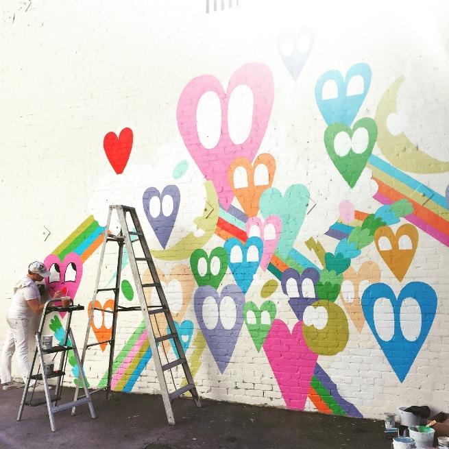 Chris Uphues Mural