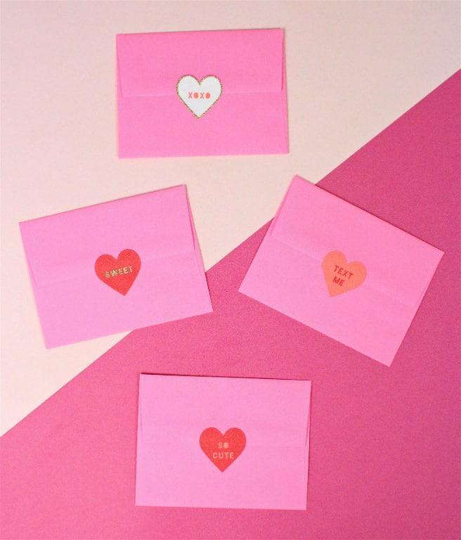DIY Free Printable Galentine's Day Brunch Invitations Envelopes