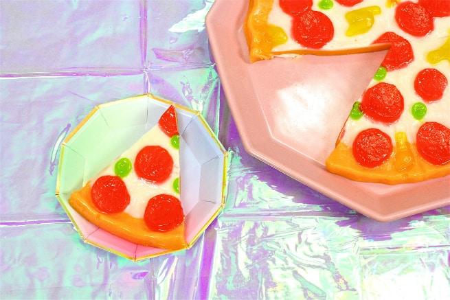 DIY Galentine's Day Brunch Gummy Slice