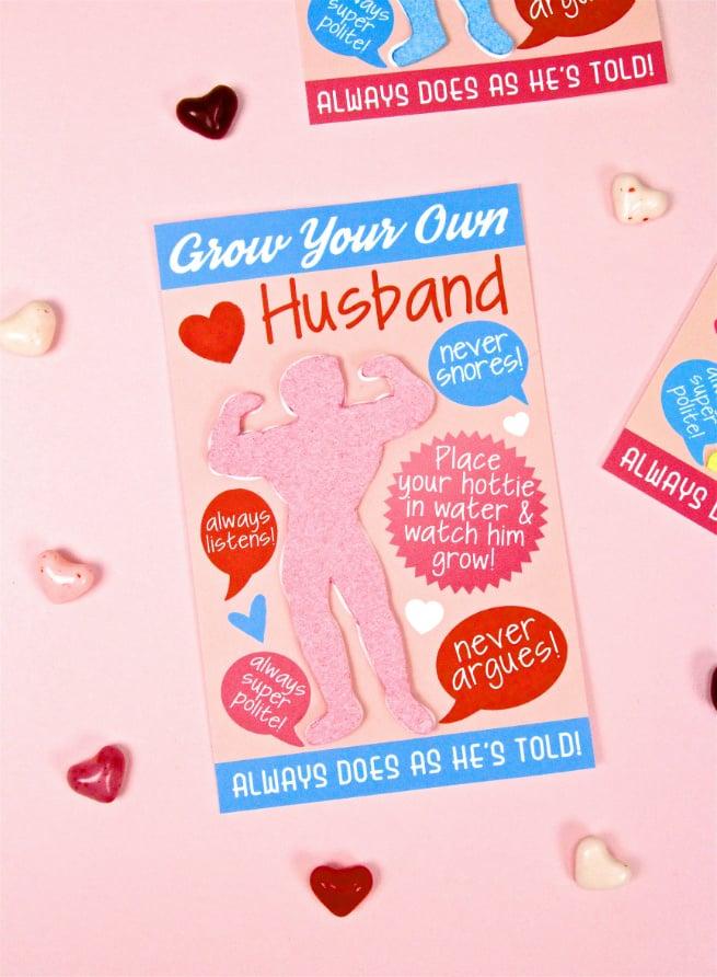 DIY Grow Your Own Husband