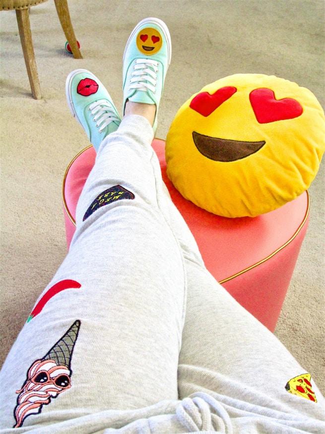DIY Patch Sneakers Emoji PATCH PANTS