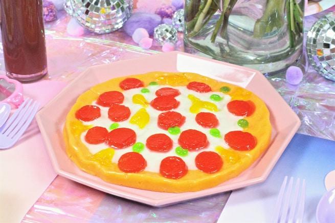 Galentine's Day Brunch Gummy Pizza