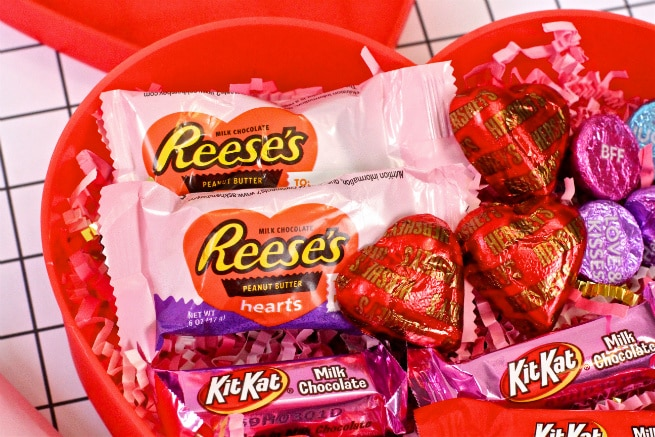 Reeses Pieces Hearts