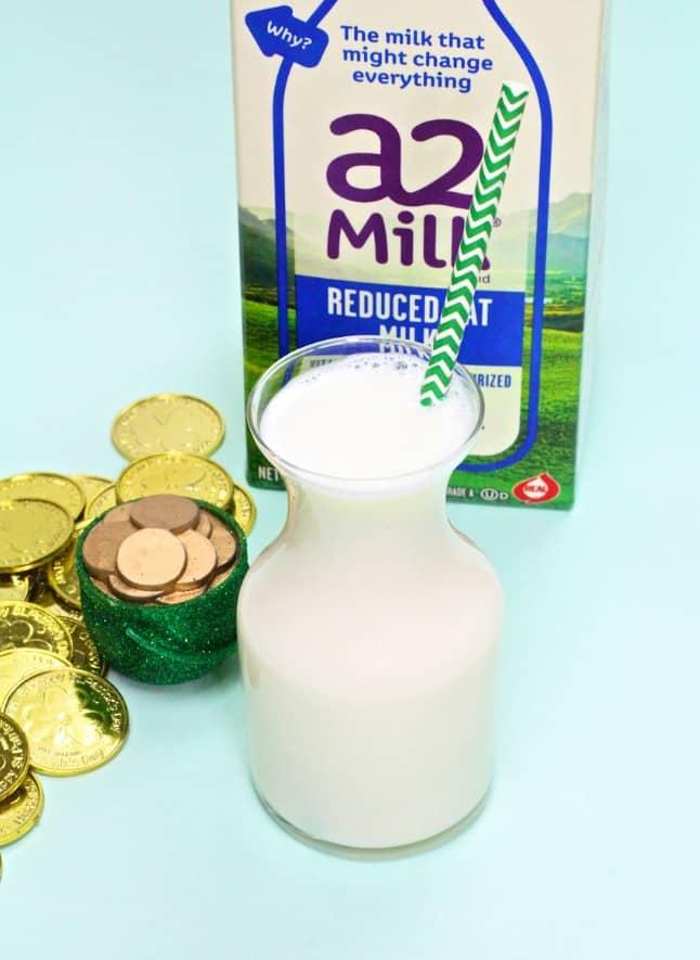 A2 Milk bottle