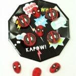 DIY Marvel Deadpool Chocolates!