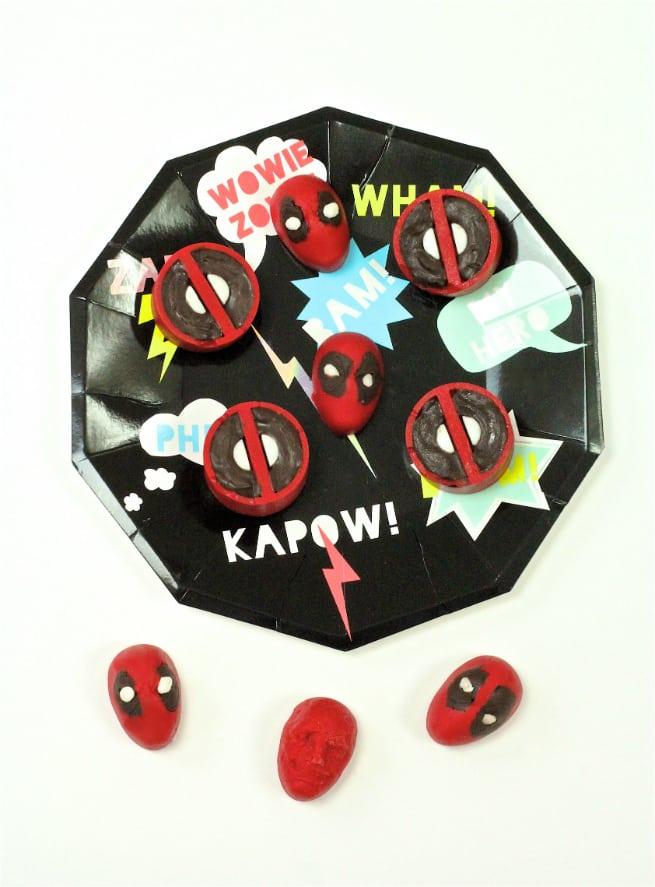DIY Deadpool Chocolates