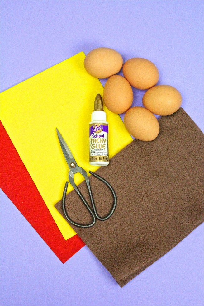 DIY Hotdog Easter Eggs Supplies