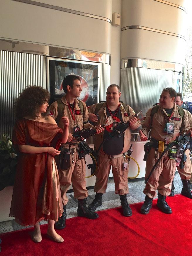 Dana Ghostbusters fans