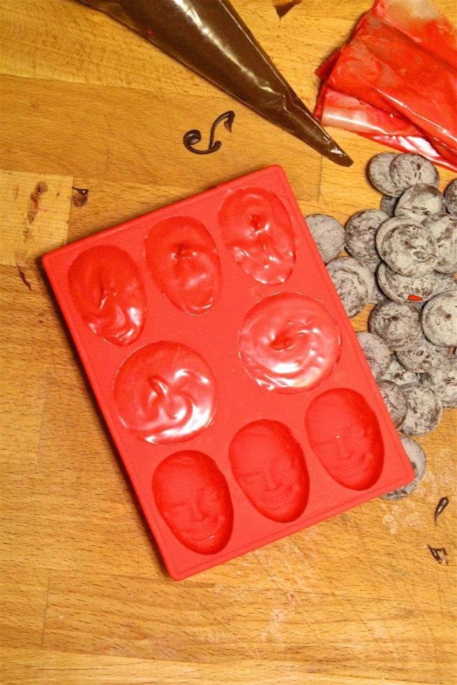 Deadpool Chocolates Step 1