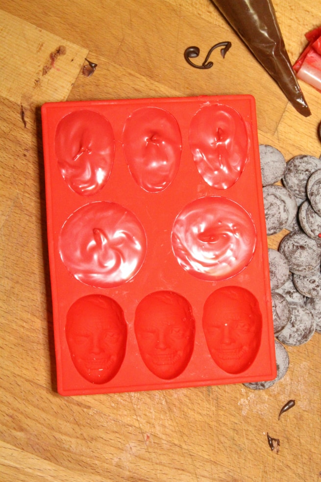 Deadpool Chocolates Step 2