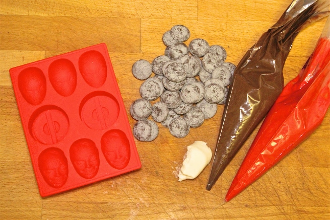 Deadpool Chocolates Supplies