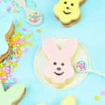 Check Out These DIY Easter Bunny Piñata Cookies!