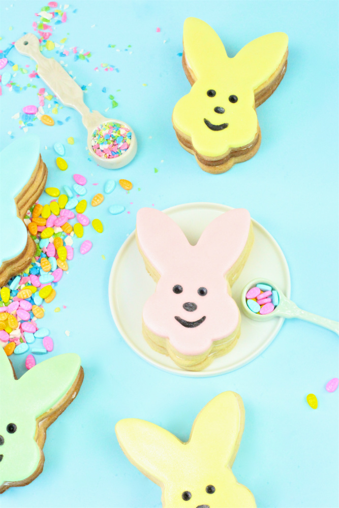 Easter Bunny Pinata Cookies