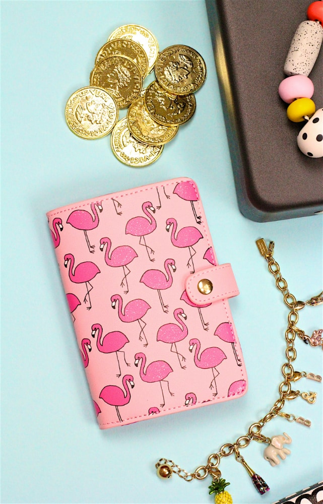 Flamingo Passport Holder